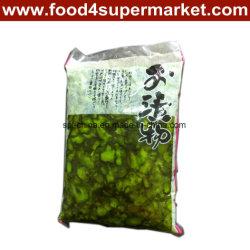 In Essig eingelegte Gurke-Scheibe-Grün 300g und 1kg für Sushi-Material
