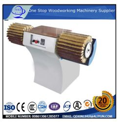 Double tête en bois massif Mini Taille de la machine de ponçage manuel Wook polisseuse à main de la machine de travail pour le bois brosse incurvée polisseuse pour plancher de bois