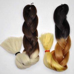 الشعر عالي الدرجة Braid 100 ٪ اصطناعي الشعر Kanekalon Braid امتداد LBH 020
