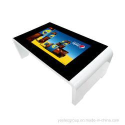 Yashi 43pouces LCD écran tactile de table d'affichage de publicité que les meubles