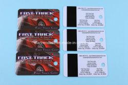Rabatt! CMYK-Farben Drucken Kunststoff-PVC-Schlüsselanhänger Kombinationskarten mit Barcode