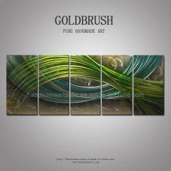 Résumé de l'huile en métal 3d'Artisanat de peinture mur Intérieur décor d'art