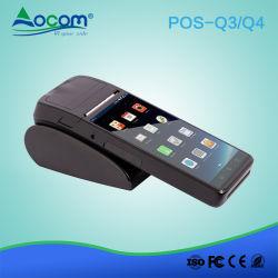 """5.5"""" Android 6.0 WiFi inteligente 3G móviles de mano toque POS Mini Terminal con lector de tarjetas NFC"""