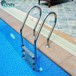 Installation facile de la promotion des ventes piscine en acier inoxydable anti-dérapant Ladder