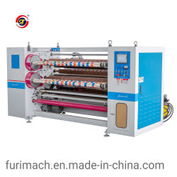 Pe-210 automático de fita adesiva Rolo jumbo máquina de corte