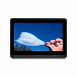 """10.1の""""キオスクのための1280X800 HDのTFT LCDの金属ハウジングの接触モニタ"""