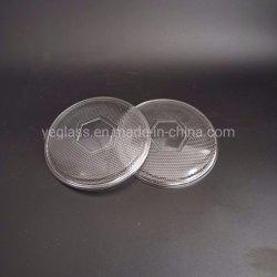 Couvercle en verre pressé technique habile à réflecteur LED abat-jour de l'objectif