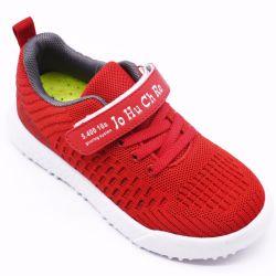 Commerce de gros chiffon Net Couleur unie Lace-Free Casual chaussures de sport