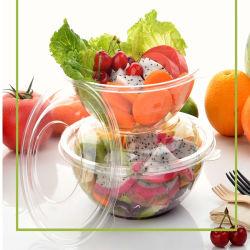 Salada de frutas de plástico contentor Taça de embalagens de produtos hortícolas