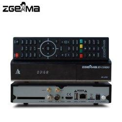 Zgemma H9 combinados com DVB-S2X+DVB-T2/C 4K UHD receptor com CI+