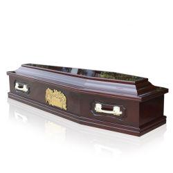 「最後の晩餐」のパネルが付いているJs-E027ヨーロッパ式の高品質の木の棺