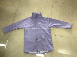 Rivestimento della pioggia dell'unità di elaborazione del cappotto di trincea delle donne