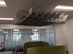 En vedette La fibre de polyester Feu Conseil / Conseil de Plafond acoustique