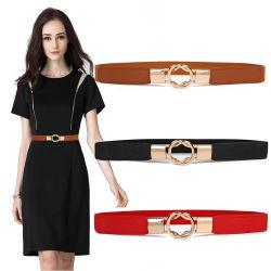 Ремень безопасности для женщин Skinny платья дам мода поясом Band ремни