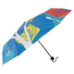 Fábrica de olhar bem para personalizar 3 vezes chuva Guarda Manual