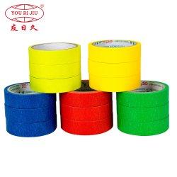 Diferentes tamaños de Color de la cinta de enmascarar