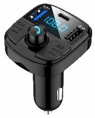 Bt29 Entrega rápida el mejor coche reproductor de MP3 con Bluetooth el transmisor de FM Cargador de coche QC 3.0 Transmisor FM inalámbrico para coche Precio