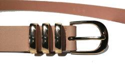 belt 3 형식 벨트 공장 관례 PU 기본적인 숙녀 금속 루프 여자 벨트 패션 악세사리