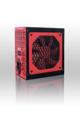 Alimentatore certificato bianco Thermaltake Smart da 500 W 80+, alimentazione continua con ventola di raffreddamento da 120 mm, alimentatore PFC attivo ATX 12 V V2.3/EPS 12 V.