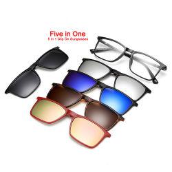 Polarisé magnétique de gros cadres optique PC Clip sur des lunettes de soleil