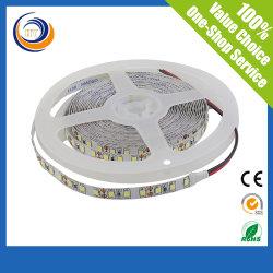 ホットセール 2835 SMD LED ストリップ 5meters ワンロールコールドホワイト、ダブルサイドフレキシブル基板、 3m バックテープ付き