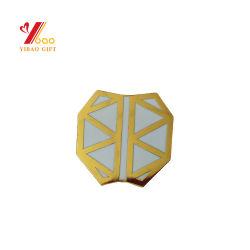 Förderung-Vergoldung-nachgemachtes hartes Decklack-Metallpin-Abzeichen
