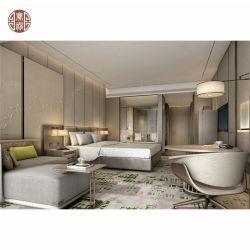 호화스러운 격조 높은 문체 호텔 특대 침실 세트 한벌 가구를 완료하십시오