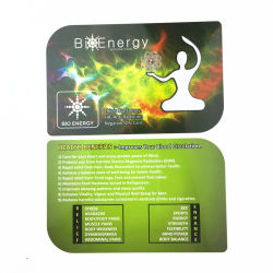 Customiz Energie-Gesundheits-Karten-Nano Energie-Karte mit 2000-3000cc