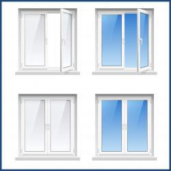 新しい設計事務所安いUPVC/PVCフレームの開き窓Windows