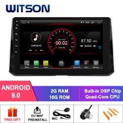 Witson GPS van de Speler van 9.0 Auto DVD van het Scherm van 10.2 Duim Androïde voor Toyota Auris 2018