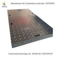 Tapis de la route de la construction en plastique HDPE