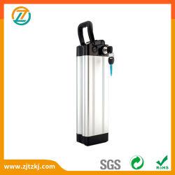 Silberne Fisch-Typ 36V Lithium nachladbare Ebike Batterie