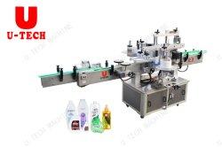 De semi-auto Machine van de Etikettering van de Sticker van de Fles Dubbele Zij Zelfklevende