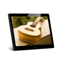 10 polegadas LCD elegante moldura fotográfica digital de vídeo Reproduzir Música e Fotografia automática com sensor de movimento
