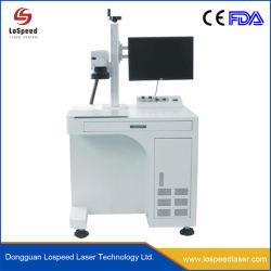 Lospeed Laser Fiber Laser Marking Machine Met Roterend Apparaat