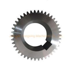 炭素鋼の拍車伝達スペアーまたは伝達部品のための螺旋形ギヤ車輪