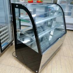 Strumentazione commerciale del frigorifero dell'armadietto di esposizione del negozio del forno della torta da vendere