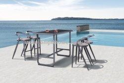 Het nieuwe OpenluchtMeubilair van de Barkruk van het Kussen van Sunbrella van het Frame van het Aluminium van het Ontwerp