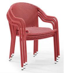 Nouvel élément de conception moderne Président Set Terrasse Jardin meubles en rotin en osier corde