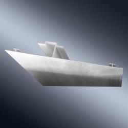 造船業のための5083/5086/5052/6061/6082/の突き出されたアルミニウム肋骨のプロフィールか海兵隊員および沖合いの企業のボート