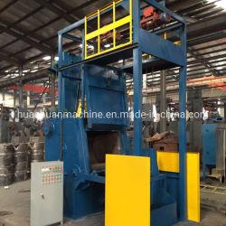 Limpieza de la fundición de la alimentación automática de la correa de acero 15GN Granallado máquina