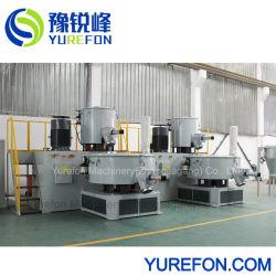 Le chaud et le mélangeur de PVC haute vitesse de refroidissement de la machine