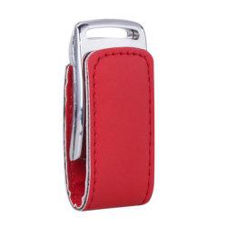 مفتاح ذاكرة محرك أقراص USB محمول من الجلد المغناطيس