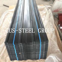 0.15*750/680mm 20PCS/Bundle 나이지리아 PPGI에 의하여 주름을 잡는 돋을새김된 강철 루핑 장