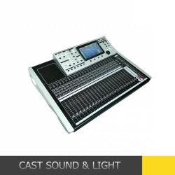 오디오 24 채널 통신로 디지털 믹서 DJ 음악 믹서
