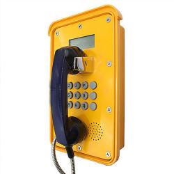 LCD 디스플레이 웨더프루프 전화기가 있는 VoIP SIP PoE 전화를 판촉합니다