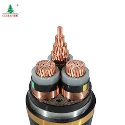 Flammhemmender kupferner Leiter beständiges Hochtemperaturkurbelgehäuse-Belüftung umhüllt/Hüllen-Übertragung und Verteilungs-gepanzertes Stahlsteuerelektrisches Draht-Energien-Kabel