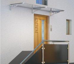 Toldo cobertizo de la puerta de alta calidad con láminas de policarbonato