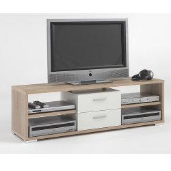 Maschere di legno del basamento dell'ultima mobilia TV del pacchetto piano