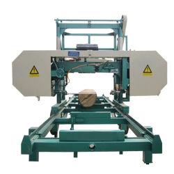 Coupe de bois des forêts de la machinerie Scie à ruban multifonctionnelle de la machine de sciage